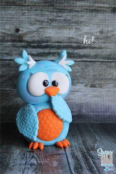 Sugar High Inc. fondant owl