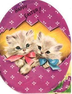 postcard.quenalbertini: Vintage Easter Card - Marjorie Cooper Art   eBay