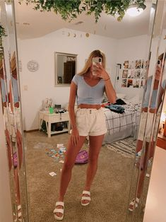 129 cute summer outfits for women and teen girls Teenager Outfits Cute Girls Outfits summer Teen Women Teenage Outfits, Teen Fashion Outfits, Woman Outfits, Boho Outfits, Fashion Clothes, Casual Summer Outfits For Teens, Summer Fashion For Teens, Casual Summer Outfits Shorts, Comfortable Summer Outfits