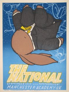 An awesome National poster by the always amazing Jay Ryan!