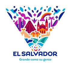 """Interbrand creates place branding to """"put El Salvador on the map"""" – Design. - city logos - Interbrand creates place branding to """"put El Salvador on the map"""" – Design Week - City Branding, Destination Branding, Logo Branding, Branding Design, P Logo Design, Design Agency, Corporate Design, Corporate Identity, Apps"""