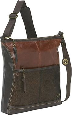 The Sak Iris Crossbody Bag - my new bag, to replace the one with the broken zipper... I got mine at Macy's...