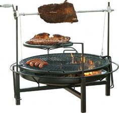 Multipurpose, fire pit for ambiance, heat and for cooking.