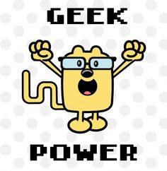 Geek power forever