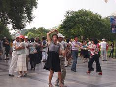 社交ダンスin公園
