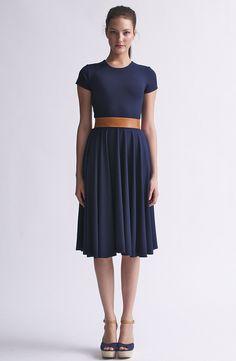 Navy dress <3