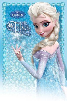 Frozen - Disney - Elsa - Official Poster