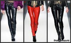 Balmain leather pants DIY