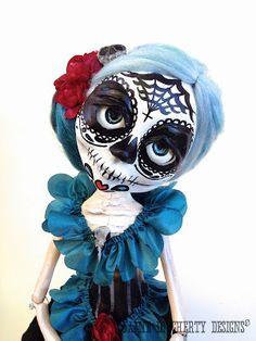 Jamie Dougherty designs: Catrina Dia de los Muertos
