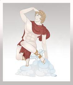 Hermes by GretaMacedonio on DeviantArt