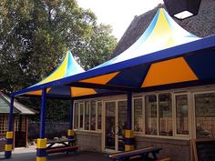School Canopies, Tensile Shelters & Covered Walkways   Inside2Outside   Questions To Ask Before Buying a Canopy