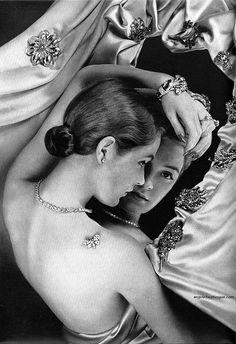 Tiffany & Co Jewellery, Harper's Bazaar 1941by Erwin Blumenfeld