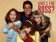 Who's the boss? ~ Madame est servie Avec Tony Danza, Judith Light et Alyssa Milano 80 Tv Shows, Old Shows, Great Tv Shows, 80s Kids Shows, Boss Tv Show, Tv Vintage, Tony Danza, Cinema, My Childhood Memories
