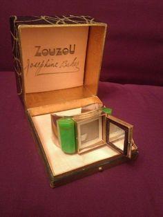 Art Deco Flamand Zouzou Bakelite Josephine Baker Bracelet Powder Compact | eBay