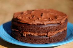 World's Best Chocolate Birthday Cake     1 cup coconut flour     3/4 cup raw cacao powder     2 tsp. baking powder     2 tsp. baking soda     1/2 tsp. Organic Pure KAL Stevia or sweetener of choice (to taste)*     2 tbsp. organic coconut sugar (optional)     1/8 tsp. salt     8 large pastured eggs  melted virgin coconut oil (or unsalted butter)  homemade vanilla extract  canned coconut milk  strong brewed coffee dark chocolate chips or 80% chocolate bar