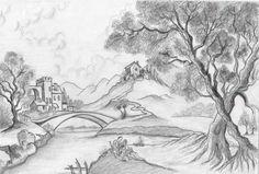 Çevre ve Karakalem Google Images, Drawings, Drawing Tutorial, Image, Painting, Abstract Artwork, Art, Snow