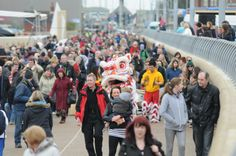 Lots of people from across the North East came down on the Saturday to enjoy the opening day celebrations at Littlehaven, south Shields.