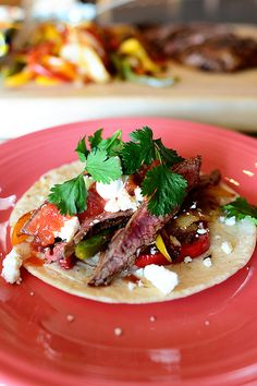 Beef Fajitas by Ree Drummond / The Pioneer Woman, via Flickr