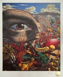 Robert Williams in the Land of Retinal Delights Limited Edition Lithograph Lowbrow Arwork Kustom Kulture Pop Surrealism
