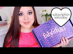 FABFITFUN UNBOXING! | Subscription Saturday - YouTube