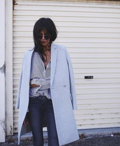 """Petra on Instagram: """"The dark blue skinnies by @paigedenim are a subtle partner…"""