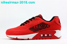 innovative design 239bc fd516 Nike Air Max 90 KPU Mens Sneakers For Sale Red Black White Men s Sneakers,  Sneakers