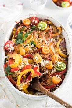 SUN DRIED TOMATO AND FETA QUINOA CASSEROLEReally nice recipes.  Mein Blog: Alles rund um Genuss & Geschmack  Kochen Backen Braten Vorspeisen Mains & Desserts!