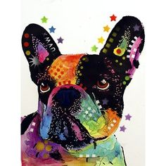 East Urban Home 'French Bulldog' Graphic Art Print Format: Paper