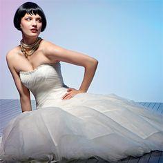 Brides: Wedding Dresses Under $1,000 :