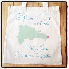 Adorable welcome tote