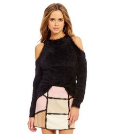 Shop for Gianni Bini Shaun Cold-Shoulder Long Sleeve Nub Sweater at Dillards.com. Visit Dillards.com to find clothing, accessories, shoes, cosmetics & more. The Style of Your Life.