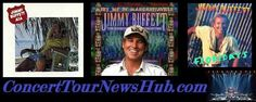 Updated Jimmy Buffett 2015 North American Tour Schedule With Huey Lewis and The News - Updated @jimmybuffett #MusicNews #TourSchedule