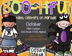 2nd Grade October Math Centers with a Halloween Costume theme!  Engage your kiddos in reviewing math topics while keeping one of their favorite celebrations! (scheduled via http://www.tailwindapp.com?utm_source=pinterest&utm_medium=twpin&utm_content=post105803913&utm_campaign=scheduler_attribution)