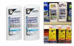 Free Right Guard or Dry Idea Deodorant at CVS!