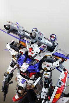 GUNDAM GUY: PG 1/60 Strike Gundam + I.W.S.P. - Custom Build