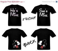 On sale Mickey Minnie Disney Matching Couples door Matchingpalace, $22.49