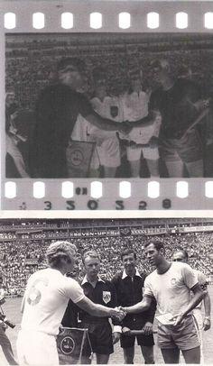 ENGLAND Vs BRAZIL 35MM Original Negative Carlos Alberto Torres FIFA W.C 1970