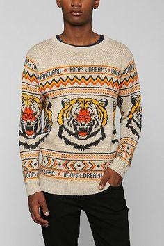 Vanguard Hoops & Dreams Tiger Knit Sweater