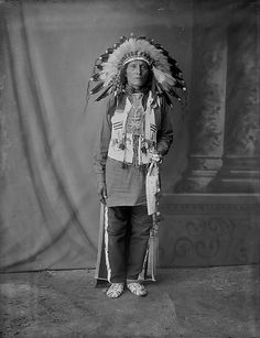 Sicangu man at the Louisiana Purchase Exposition in St. Louis, Missouri - 1904