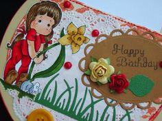 Márcia - cartões: Happy Birthday