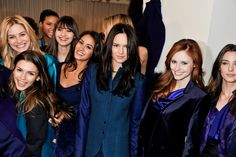 The models at our Fall 2012 presentation