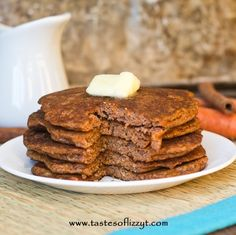 Carrot Cake Pancakes, i will sub the butter with greek yoghurt. This is for mornings when I want to put  a bit more effort into breakfast