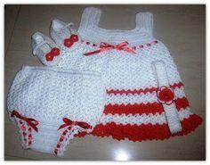 Croche pro Drink: Dresses in crochet                                                                                                                                                     Mais