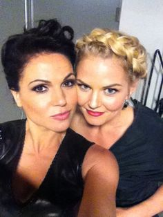 Lana Parrilla and Jennifer Morrisson