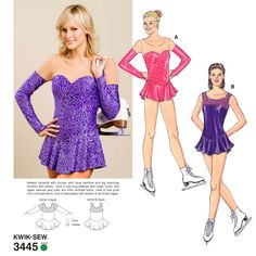Maybe this one: Activewear Patterns - Kwik Sew Leotards Pattern 3445