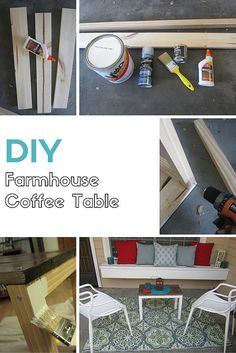 Build Your Own Farmhouse Table Diy Furniture Redo, Diy Furniture Projects, Diy Home Decor Projects, Diy Home Crafts, Home Furniture, My Living Room, Living Room Decor, Home Staging, Farmhouse Table
