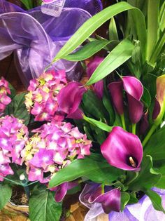 #Purple is my favorite color and these are my favorite flowers