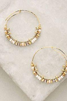Micaela Hoop Earrings