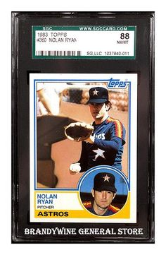 1983 Topps Nolan Ryan Baseball Card
