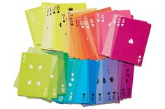 Baralhos coloridos - Fredericks & Mae Playing Cards;